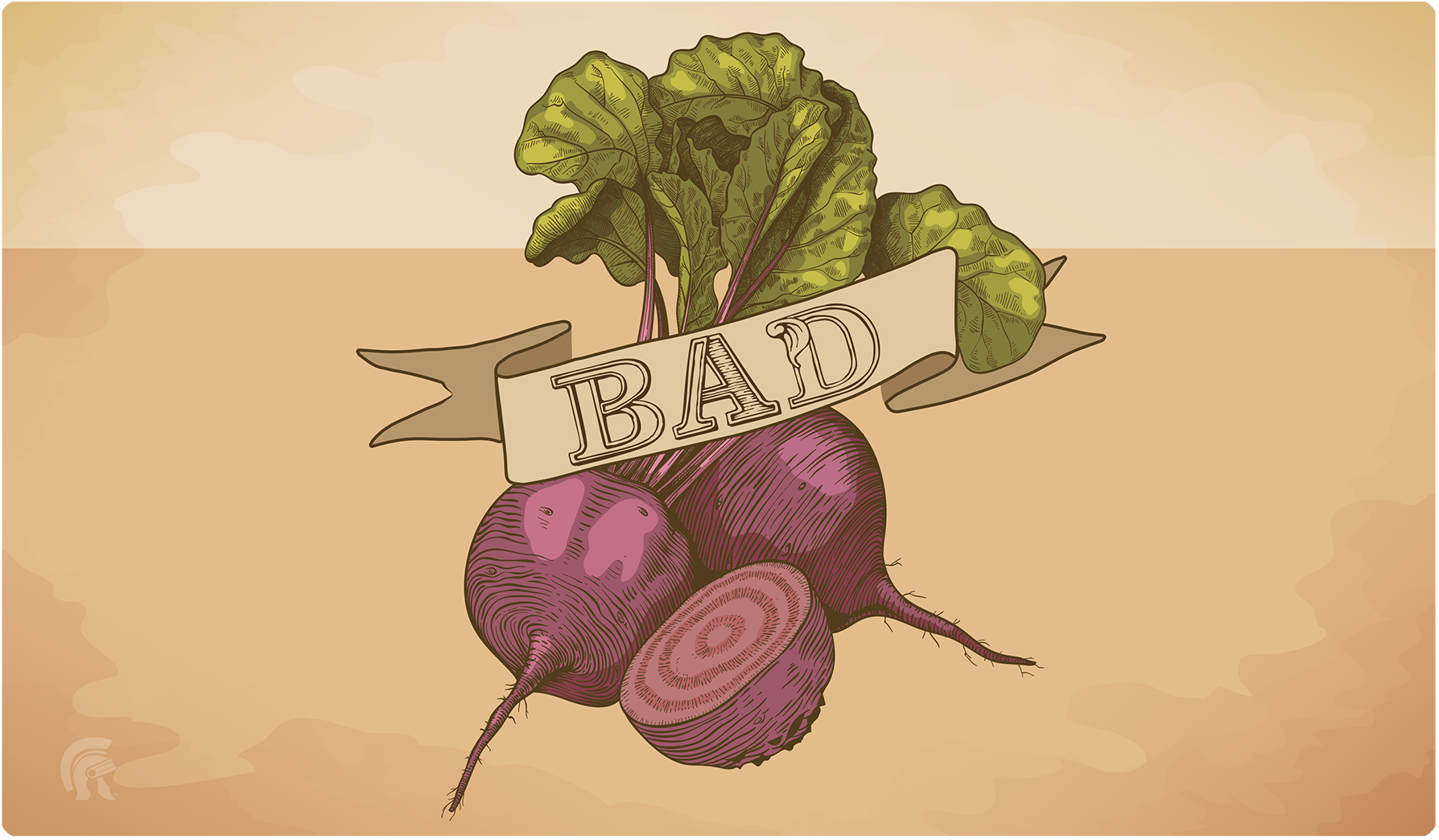 Playmat - Bad Beets